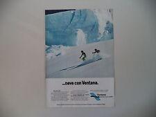 advertising Pubblicità 1978 VENTANA