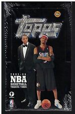 2005-06 TOPPS Factory Sealed Basketball HOBBY BOX 1ST EDITION Chris Paul RC