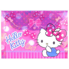 2016 Sanrio Hello Kitty A4 File Bag Stationery  ~ NEW Free Shipping