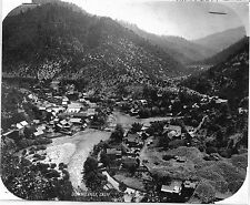 Vintage 8 x 10 Glass Plate Negative Downieville, CA