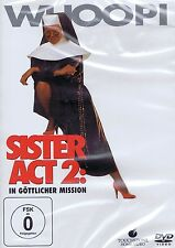 DVD - Sister Act 2 - In göttlicher Mission - Whoopi Goldberg & Thomas Gottschalk