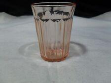Vintage ~ Depression Glass ~ Fortune 5oz. Juice Tumbler ~ Pink