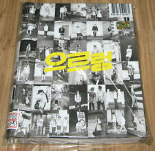 EXO EXO-K XOXO REPACKAGE GROWL Kiss Version CD + PHOTOBOOK + FOLDED POSTER NEW
