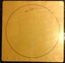 "10"" Circle wooden die fits Accucut Ellison Studio Machines"