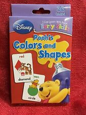 Disney Winnie The Pooh Colors Shapes Flash Cards - 36 Early Learning Skill Cards