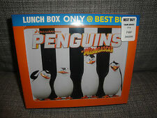 BRAND NEW PENGUINS OF MADAGASCAR METAL LUNCHBOX BEST BUY EXCLUSIVE