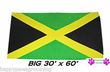 "JAMAICA JAMAICAN Country Flag Banner Big 30x60""COTTON BATH POOL BEACH TOWEL WRAP"