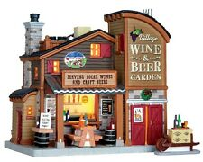 New Lemax Village Collectables -Village Wine & Beer Garden -Mini Fairy Gardens