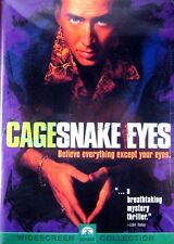 Snake Eyes (New DVD 1999 WS) Nicolas Cage Gary Sinese, Gugino *Factory Sealed!
