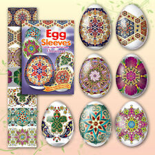 # 13 Ornament Easter Egg Sleeves Pysanka Pysanky Shrink Wraps Easter Decoration