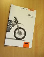 KTM FREERIDE 350 2013 manuel d'utilisateur owner's manual neuf new