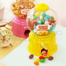 Mini Cute Saving Box Coin Bank Candy Gumball Vending Machine Kid Toy I