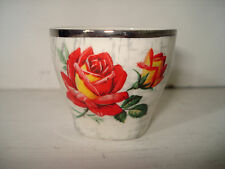 Midwinter Rosas Huevera. Vintage Kitchenalia