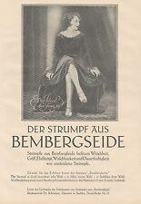J1230 BEMBERGSEIDE - Margarete Lanner - Pubblicità grande formato - 1927 Old ad
