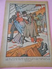 """Au voleur à l""""assassin bande de malfaiteurs Dessins Print 1934"""