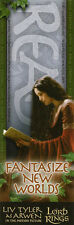 Arwen Liv Tyler Lord of the Rings Bookmark *NEW/MINT CONDITION* LOTR