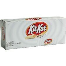 KIT KAT WHITE CHOCOLATE CANDY BARS 24CT BOX 1.5 OZ EACH SUPER FRESH