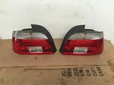 BMW OEM E39 525 528 530 M5 2001-03 SET PAIR REAR LEFT & RIGHT TAIL LIGHT LAMP