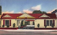 Linen Postcard Santa Barbara Motel in Los Angeles, California~107987