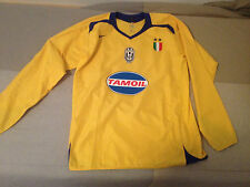 JUVENTUS CENTENARIO LONG SLEEVE 2005 2006 NO WORN ISSUE TAMOIL 05 06 CENTENARY