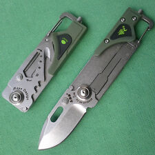 Sanrenmu SRM 8Cr14MoV Stonewash Blade multifunction tools knife 6050LUF-PP-T4