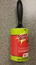 Scotch Brite Jumbo Lint Roller 1 roll x 95 Sheets  Remove Pet Hair