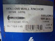 "Hollow Wall Drive Anchor 1/8"" Long"
