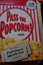 PASS THE POPCORN GAME C BONUS FAST PACED MOVIE FUN GAME NEW SEALED 2-8  PLAYERS