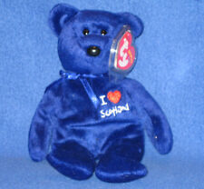TY I LOVE SCOTLAND the BEAR BEANIE BABY - MINT with MINT TAGS -  UK EXCLUSIVE