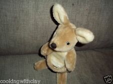 VINTAGE 1985 DAKIN NATURE BABIES 31-221 KORA KANGAROO PLUSH DOLL FIGURE HANG TAG