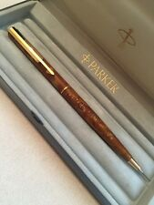 RARE PARKER ARROW CHINESE AMBER LAQUE GT MECHANICAL PENCIL-BOXED-SUPERB