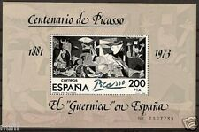 Spain  Edifil # 2631 ** MNH Set Pintura Picasso painters