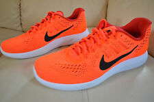 New Nike Mens Lunarglide 8 Run Running Shoes 843725-800 Sz 8 Total Crimson