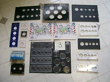 MASIVE COIN SUPPLY BOARDS TUBES CASES CAPITAL HOLDERS AIR TIGHT ETC.FREE SHIPPIG