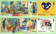 Malaysia 2015 MALAYSIA # Sehatisejiwa (4v) ~ Mint