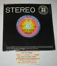 """Doris Day 7"""" 33 JUKEBOX OPERATOR Clap Yo Hands HEAR Stay With The Happy People"""