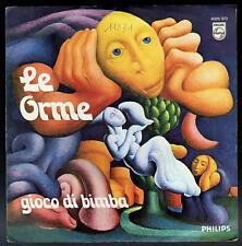 LE ORME DISCO 45 GIRI GIOCO DI BIMBA B/W FIGURE DI CARTONE - PHILIPS 6025 073