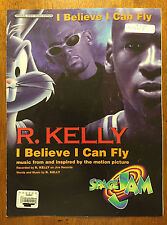 I believe I can Fly by R Kelly music sheet song book -6 pages