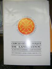 Cercle généalogique de Languedoc N° 62 Dorlan Ingénieur pont et chaussées