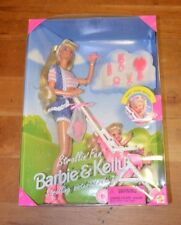 Mattel Strollin' Fun Barbie & Kelly Sister GiftSet 1995 #13742 Free Shipping