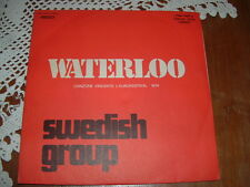 "SWEDISH GROUP "" WATERLOO "" EUROFESTIVAL'74  ITALY'74"