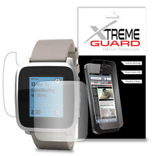 Genuine XtremeGuard FULL BODY Screen Protector For Pebble Time Steel Smartwatch