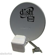 Dish Network 500 & DishPro Plus Twin Dual LNB satellite w/ Built in switch
