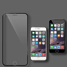 Displayschutzfolie Panzerglas Tempered Glass Film für Apple iPhone 6 schwarz