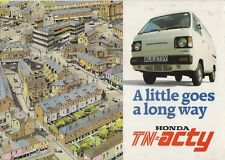 Honda TN Acty 550 Van & Pick Up 1983-84 UK Market Foldout Sales Brochure