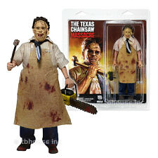 LEATHERFACE figure RETRO-STYLE CLOTHED neca THE TEXAS CHAINSAW MASSACRE series