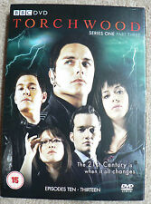 New BBC DVD Torchwood Series 1 Part 3 (15) 2 disc set Episodes ten-thirteen