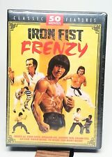 IRON FIST FRENZY 50 MARTIAL ARTS movies ~ BRUCE LEE NEW & SEALED