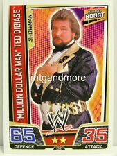 "Slam Attax superestrellas - #132 ""millón de dólares Man"" Ted DiBiase"