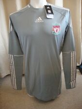 Liverpool 10-12 Techfit sponsorless HOME PORTIERE SHIRT ADIDAS BNWT (XL)